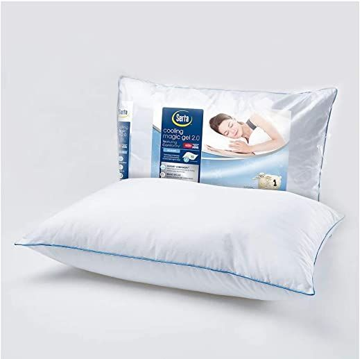 Serta Cooling Magic Gel 2 0 Bed Pillow King In 2020 Bed Pillows
