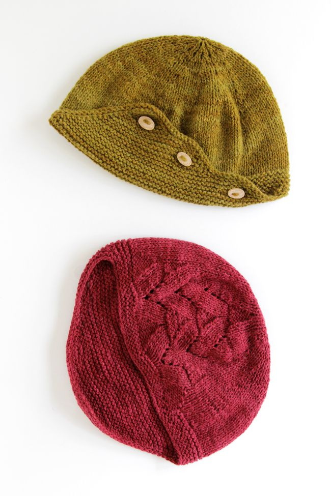 The Delta Hat by Heidi Gustad of Hands Occupied, knit in Himalayan Trail yarn from Bijou Basin Ranch.