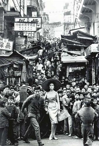in Hong Kong by Francesco Scavullo for Harper's Bazaar, June 1962