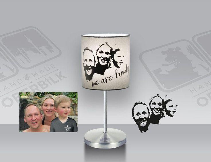 Tischlampen - Kleine Tischlampe mit deinem Lieblingsfoto - ein Designerstück von Handmade_in_Oberbilk bei DaWanda