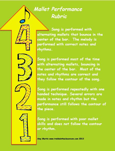 87 best Assessment for Music Class images on Pinterest Music - performance assessment