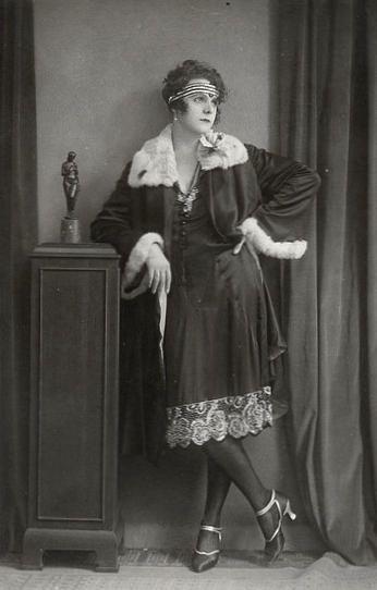 A drag performer from Berlin's Eldorado, early 1930s.