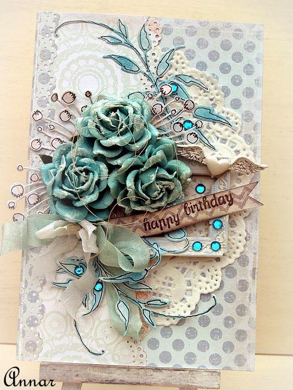 Birthday Blue Card