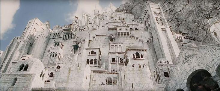 Ces passionnés de Tolkien ont le projet fou de bâtir la cité de Minas Tirith grâce au financement participatif   Daily Geek Show