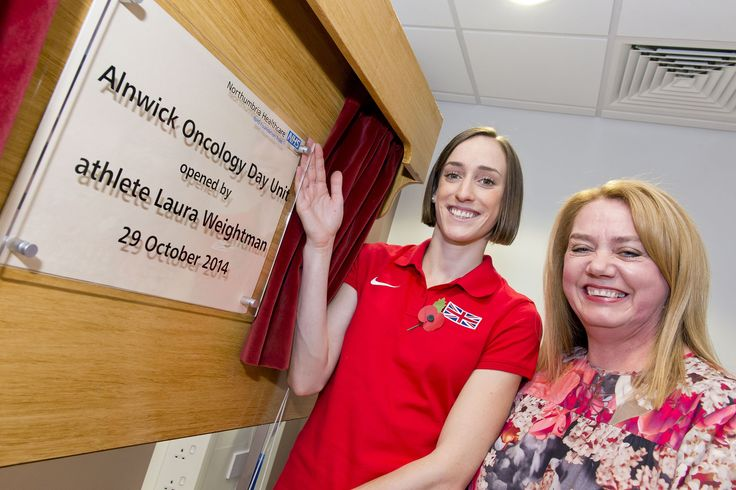 Athlete Laura Weightman today (Wednesday 29 October) officially opened Alnwick's new state-of-the-art oncology day unit which is benefiting people in the area...  https://www.northumbria.nhs.uk/news/athlete-laura-weightman-officially-opens-alnwick%E2%80%99s-new-oncology-unit