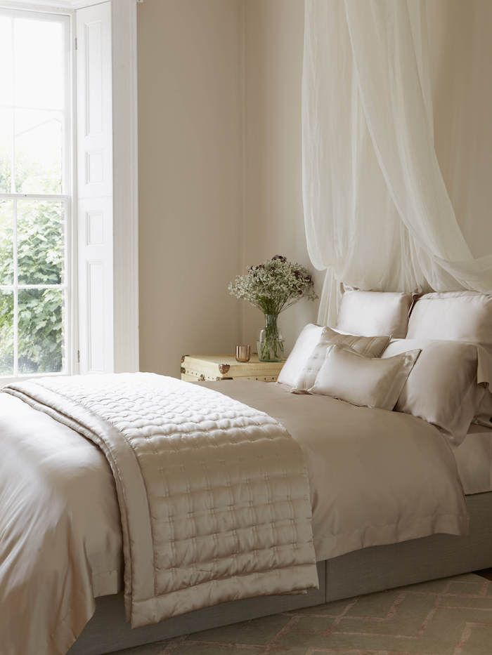 No Headboard? No Problem! 12 Ways To Style Your Bed Without A Headboard.