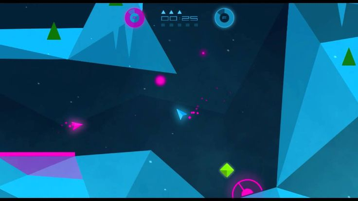 Epic trailer for Heavy Rockets. Low polygon cave shooter game.