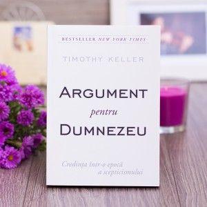 """""""Argument pentru Dumnezeu"""" ~ Timothy Keller #theologybook"""
