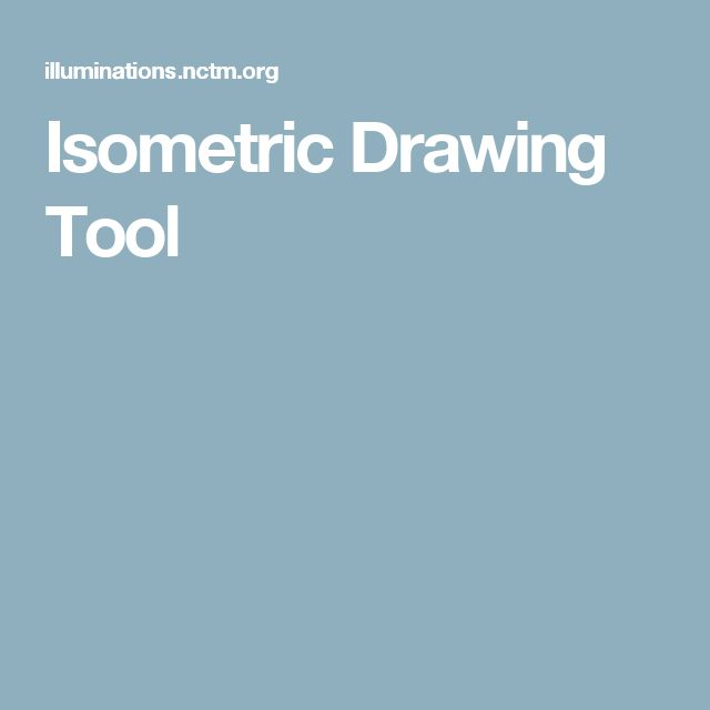 Isometric Drawing Tool