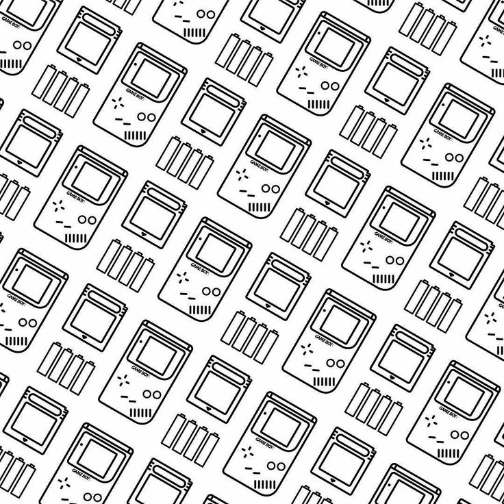 Gameboy pattern... _______________________________  #design #illustration #draw #sketch #pen #friends #centralperk #gameboy #vector #japan #game #poster #art #icon #linework #pokemon #simple #zelda #line #retro #graphicdesign #digitalart #creative #gamer #vector #gameboyadvance #gameboycolor #fifa #aladin #dribbble by almigor