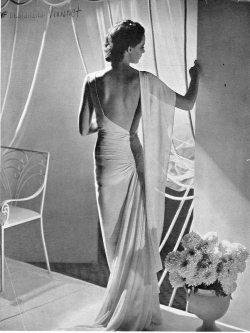 Madeleine Vionnet, Vogue, 1935 June 26