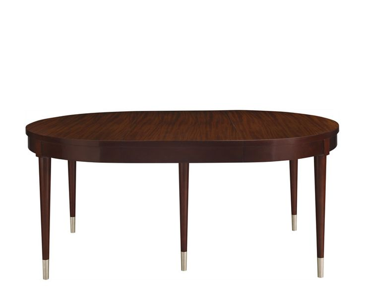 en ville dining table the collection baker furniture new read jays room for sale double pedestal