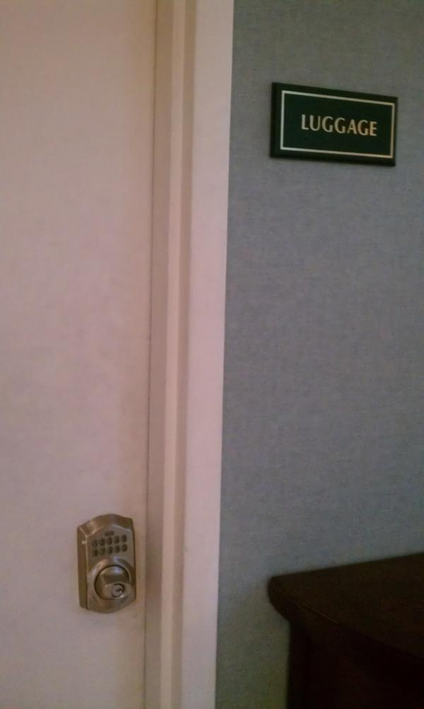 Twitter follower spotted a Schlage Keypad Deadbolt at her hotel in Florida. Where have you spotted Schlage locks?