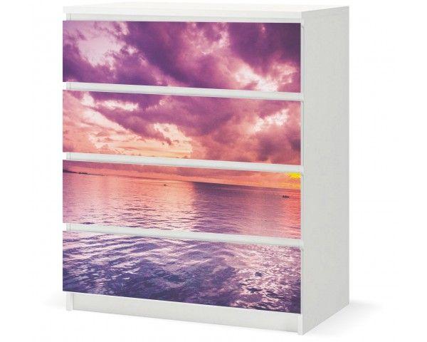 Vinyl Sticker › IKEA MALM 4d - Ocean Sunset / F005