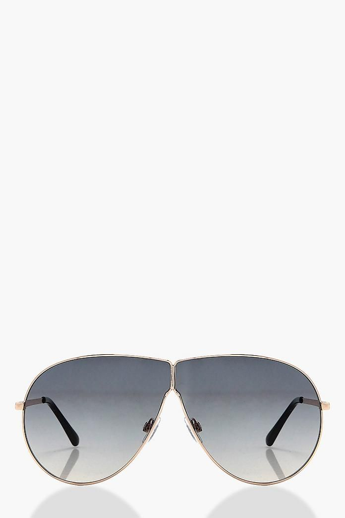 Aimee Oversized Aviator Sunglasses