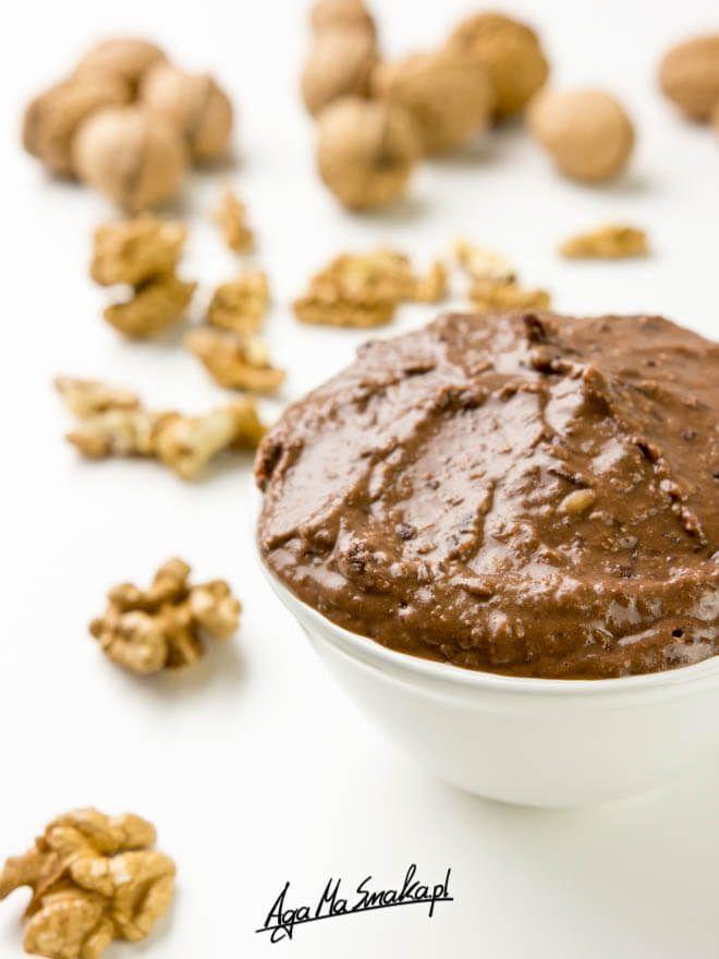 Domowy krem czekoladowo-orzechowy à la nutella z fasoli ⋆ AgaMaSmaka - żyj i jedz zdrowo!