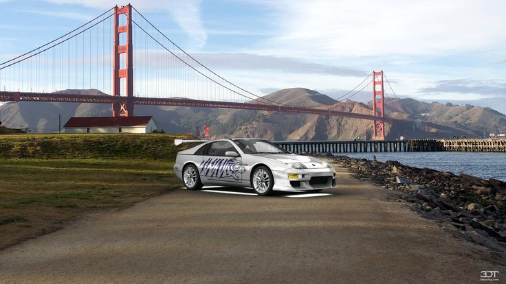 Checkout my tuning #Nissan 300ZX 1990 at 3DTuning #3dtuning #tuning
