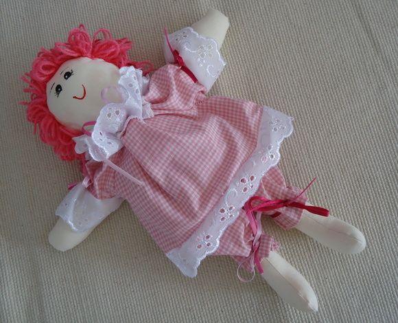 Boneca de Pano - Amora