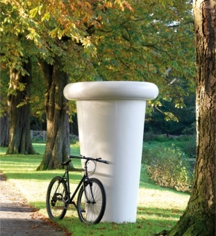 giant planter - can work like a sculpture in gardens and parks