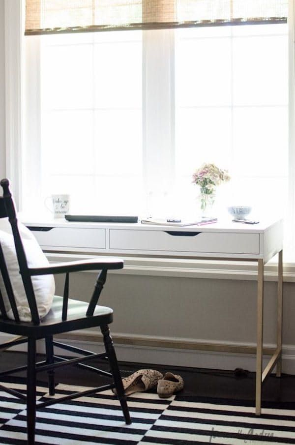IKEA Hacks for Organized Office Desk and Workspace | Apartment Therapy