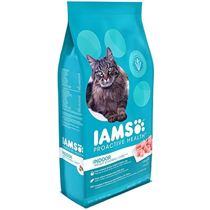 Iams proactive health indoor weight and hairball care dry