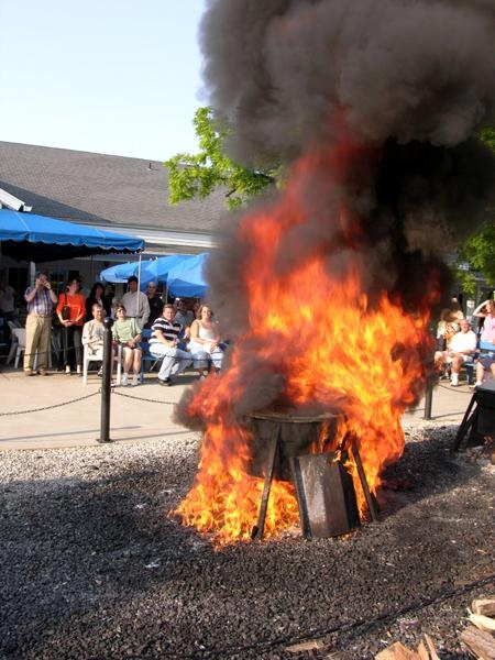 Traditional wisconsin fish boils began a century ago with for Door county fish boil