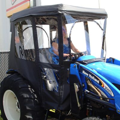 Cab Enclosure for Massey Ferguson Tractors - Requires Canopy (Canopy Kit Option Available) & The 25+ best Tractor canopy ideas on Pinterest | Lean design ...
