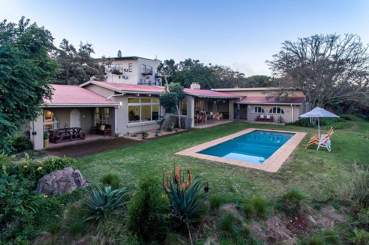 Ngoye Lodge & Nguni Cottage Self Catering Holiday Home In Mtunzini - Zululand, KZN See more on https://goo.gl/i6YUY8  Welcome to the relaxed and friendly environment of Ngoye Lodge and Nguni Cottage.  Set in large park-like gardens, Ngoye Lodge is a spacious family home, fully furnished and perfectly equipped for large family and friend get togethers.