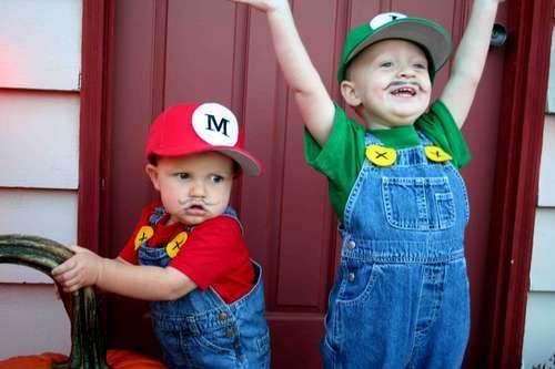 mario brothers costume