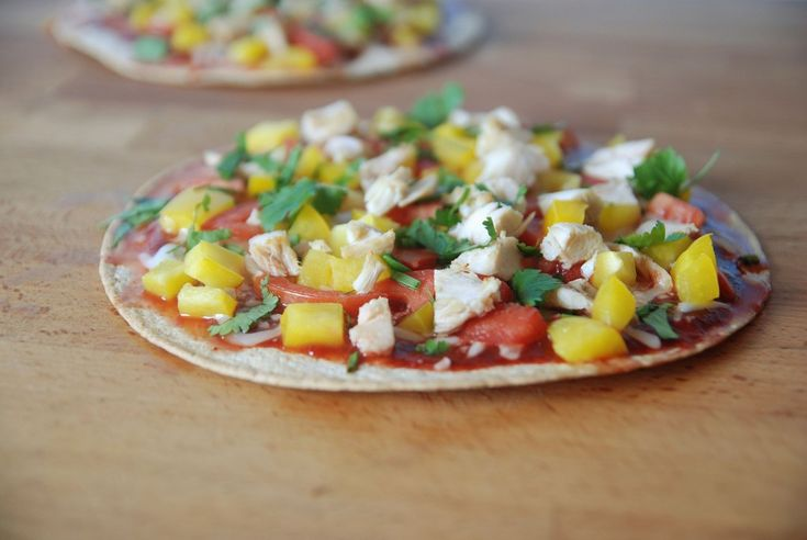 The Novice Chef » Chicken Tandoori Pizza