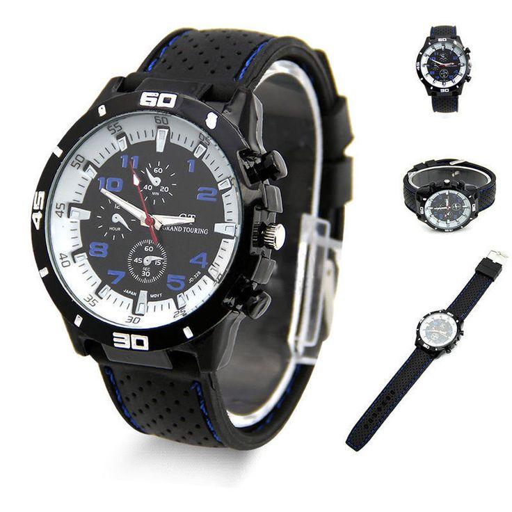 USA Quartz Watch Men Military Watches Sport Stainless Steel Silicone Wrist watch #Feixingjewelry #Sport