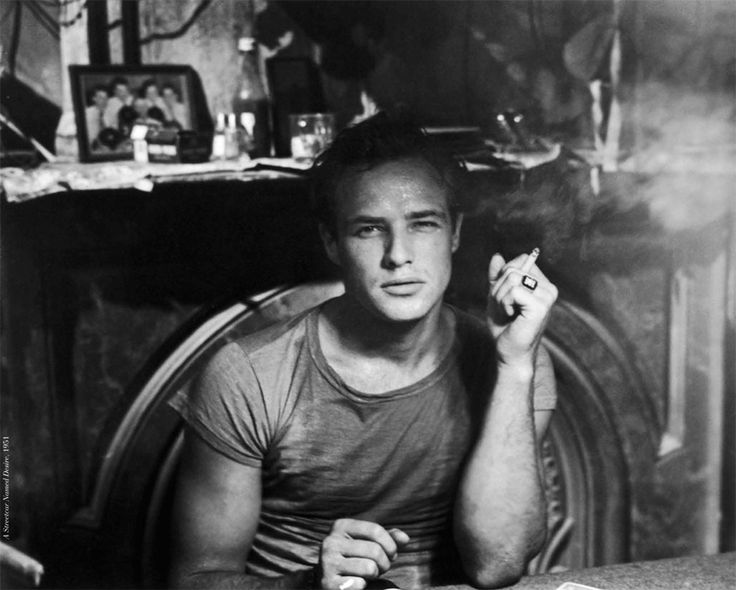 Marlon brando his stanley kowalski seemed to burn off the for A salon named desire