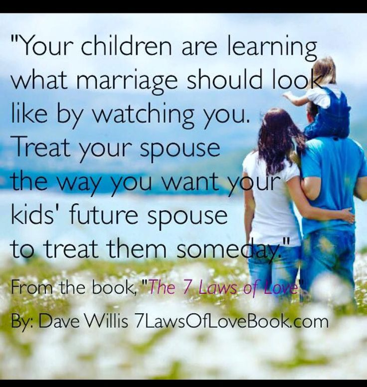 Other people's kids are watching too. Like it or not. Fair or not. Ur behavior has a profound impact.