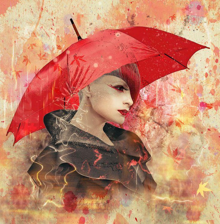 Photographer\'s photo Nataliorion - Красный зонтик..