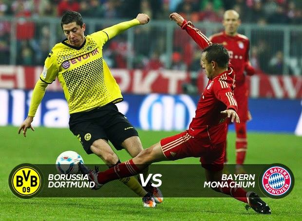 Champion league finals! Borussia Dortmund, Bayern Monachium