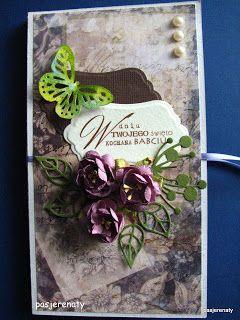 Zakątek radosnej twórczości: karteczka na czekoladowe co nieco:)