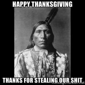 Thanksgiving Meme native american