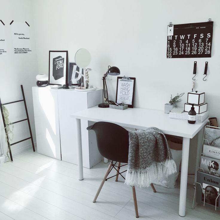 IKEA/ニトリ/セリア/ポスター/ブラック/白黒…などのインテリア実例 - 2016-03-01 11:43:16   RoomClip(ルームクリップ)