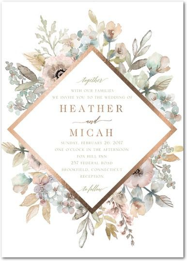 25+ best ideas about wedding invitations on pinterest   formal, Wedding invitations
