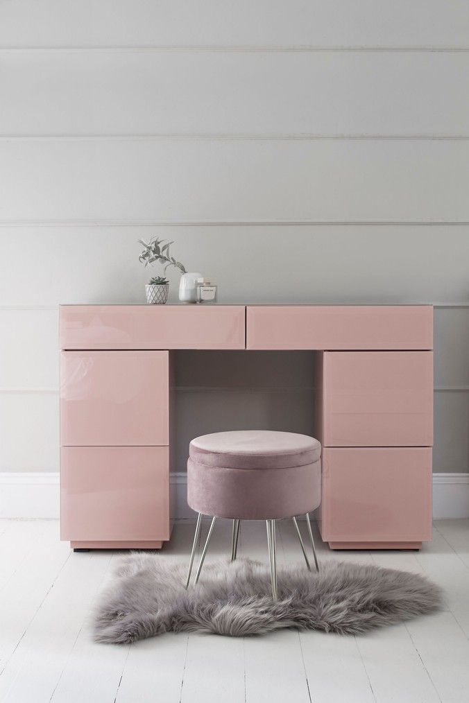 Next Sloane Dressing Table Pink In 2019
