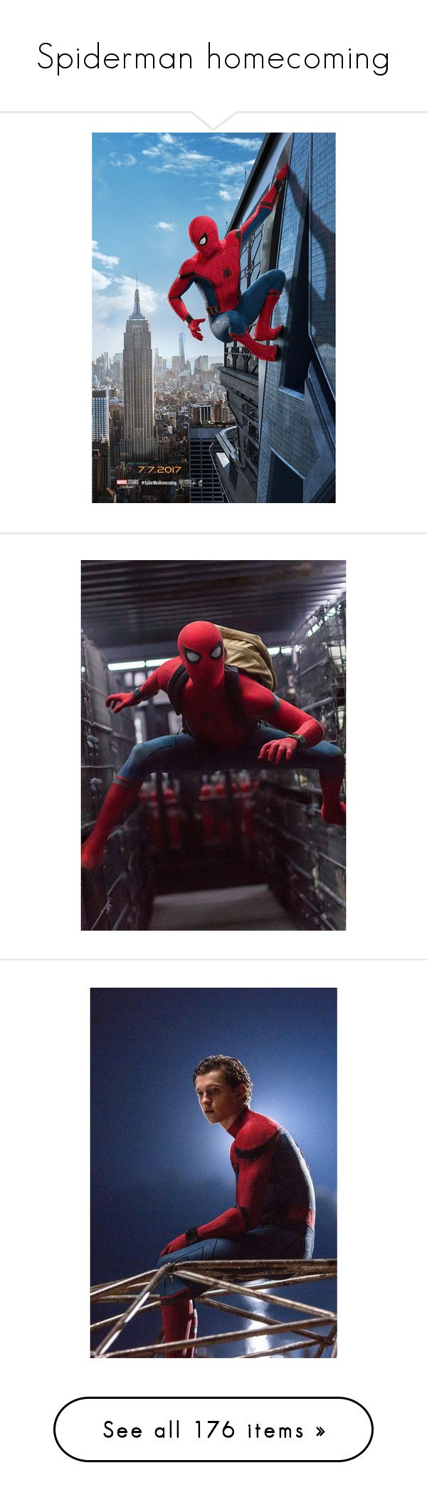 """""""Spiderman homecoming"""" by violetrose74 ❤ liked on Polyvore featuring home, home decor, wall art, spider man poster, spiderman wall art, spiderman poster, motivational wall art, comic book wall art, comic wall art and inspirational home decor"""
