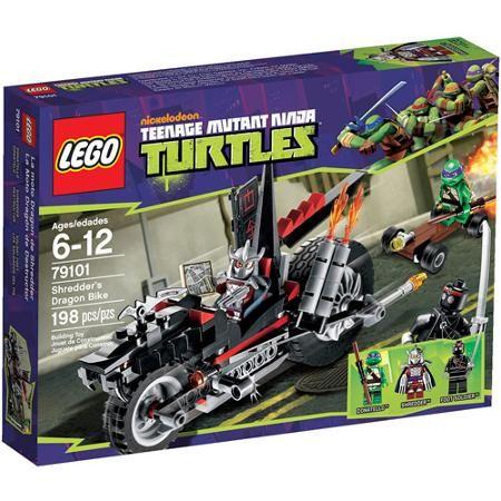 Brayden's List: LEGO Ninja Turtles Shredder's Dragon Bike Play Set