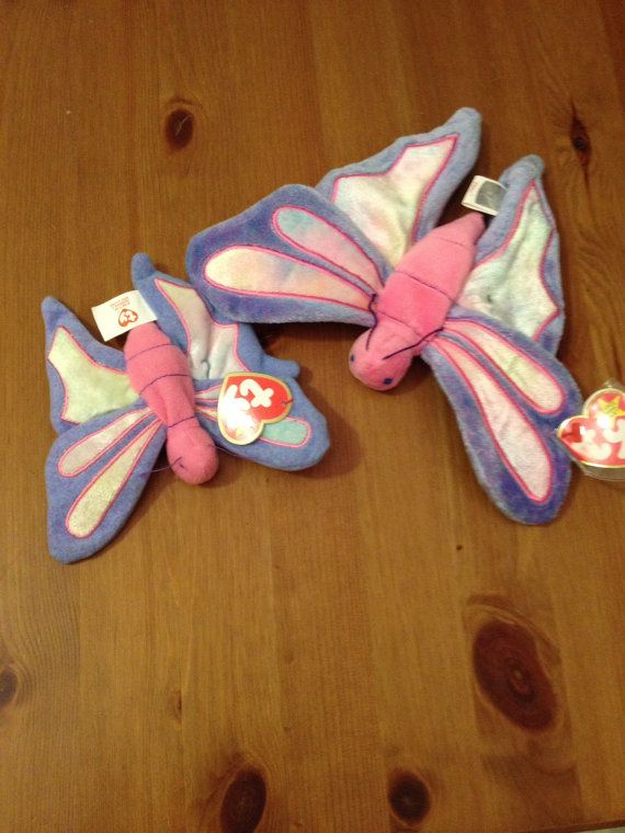 Butterfly Beanie Baby  Butterfly Mother and by SageandDeesVintage