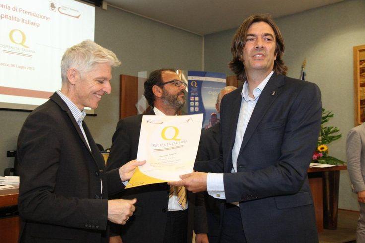 Premiazione Lecce 2013 - Ministro del Turismo Bray