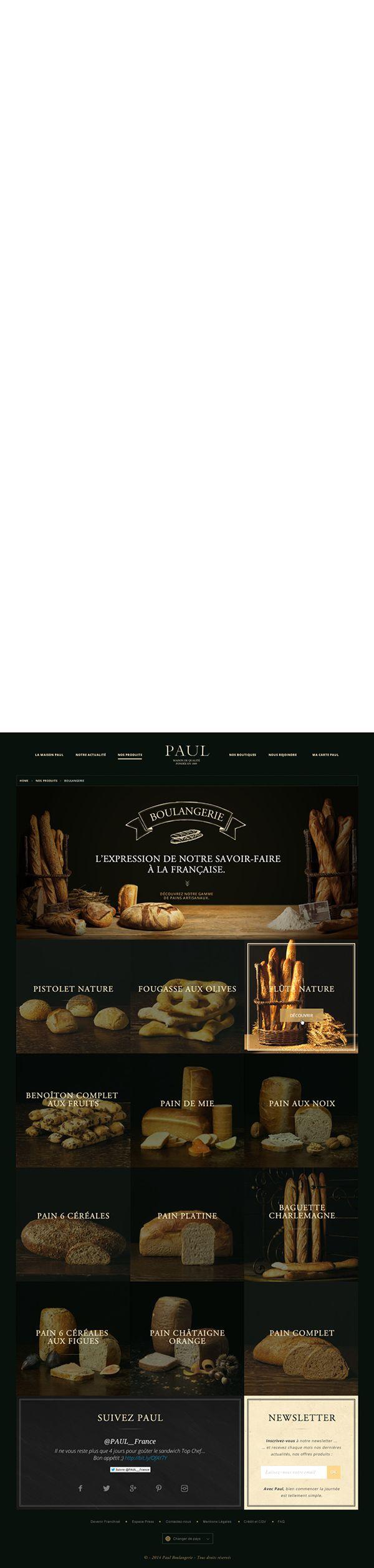 Boulangerie Paul on Behance