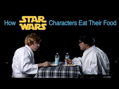 How Star Wars Characters Eat Their Food (How Animals Eat Their Food Parody) - YouTube