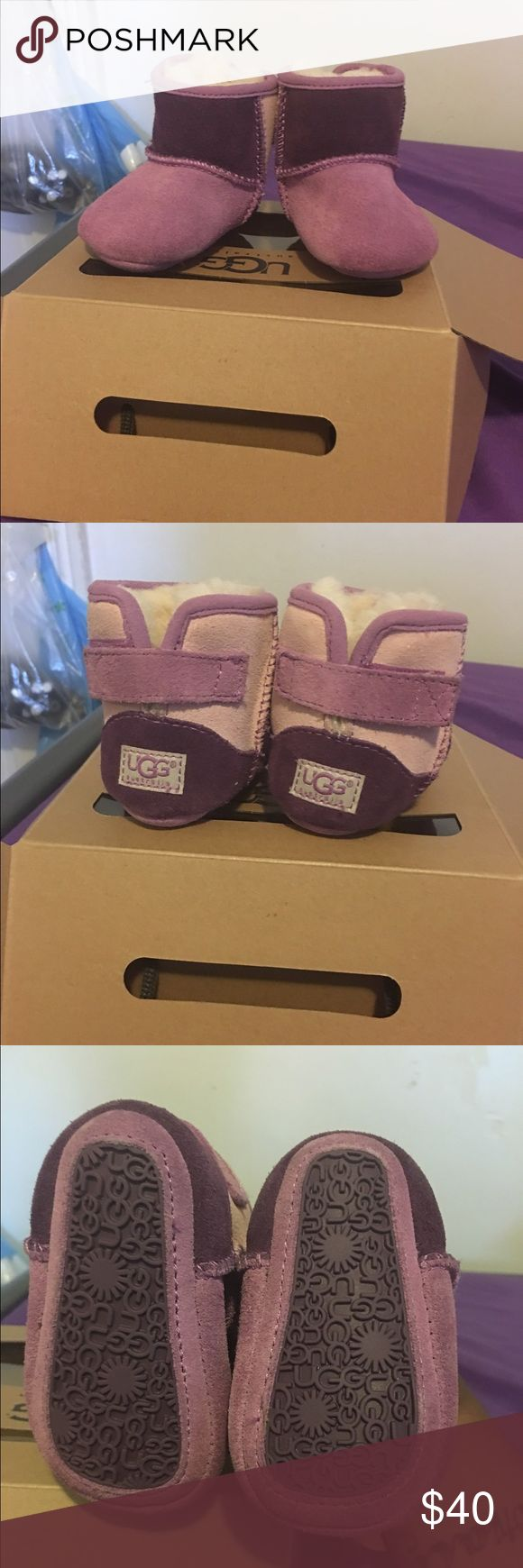 Baby/Newborn UGG boots Size 0/1 (0-6 months) Worn twice , excellent condition. For baby girls UGG Shoes Winter & Rain Boots