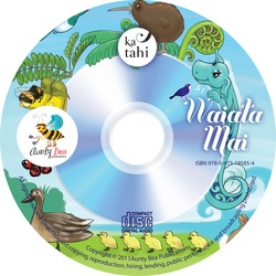 New Zealand - Waiata Mai    ICTNZ 04    Waiata Mai is a song book with many of the songs Beatrice wrote many years ago, which are favourites of many around New Zealand such as AEIOU, Ma is white Whero is red, Oma Rapiti etc    This book/CD set is mostly in Maori  $24.95