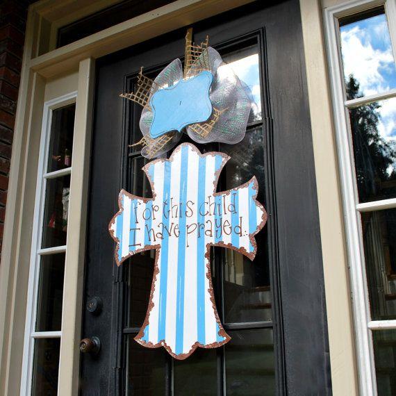 Baby+Hospital+Door+Hanger+Baby+Door+Decoration+by+LooLeighsCharm,+$50.00