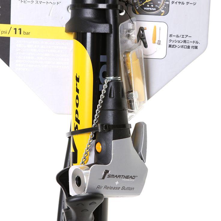 トピーク TOPEAK エアポンプ フロアー ポンプ、 TPK J.BLOW スポーツ II AD-EV PPF05400 -AlpenGroup(アルペン・ゴルフ5・スポーツデポ)オンラインストア